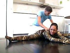 flexi elastano ginasta gosta de kamasutra do sexo