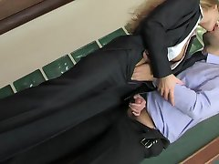 Russian Secretary - Meeting Break Anal