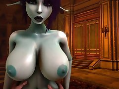 Soria dark elf 3D sex video