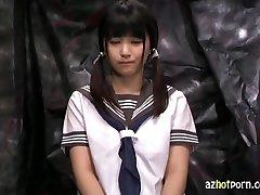 AzHotPorn.com - Confinement Chair Trance Schoolgirl
