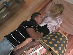 sexy maid teasing