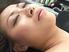 Sexy japansk gå Glipp av Aizawa massasje,lekt,og trekant