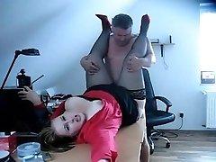 Boss karstā izdrāzt savu Sekretārs(GETLaid24-com)