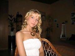 Sweet german blond tart wife hotwife for hubby
