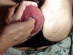 Handballing A Giant Eggplant