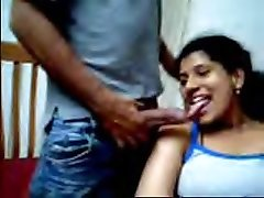 Desi couple luvs flashing on webcam