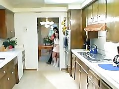 Young babysitter gets dicked and jizzed