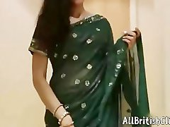Very Sexy Indian Aunty In Saree Hindi Audio british euro brit european cumshots swallow