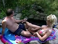Tina Cheri is craving some cum at the pool