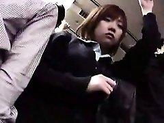 Bastante chicas Japonesas llegar usado y abusado por los chicos calientes