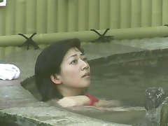 japan    spring spa natural bush.