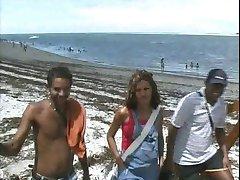 Brazilian Pregnant Hooker Gangbang
