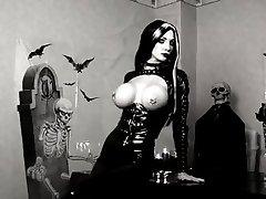 Crni Lateks Gotička Dama
