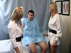 Nurse Handjob: Patient can't get an erection