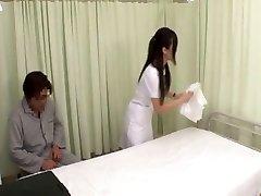 Nurse Jacks In Restroom