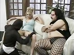 Midget Plows A Chick For Ron Jeremy