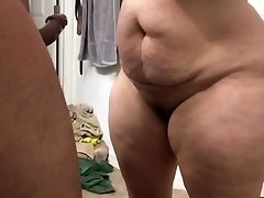 Supah thick milf throating cock