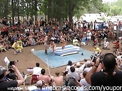 First-timer Naked Contest at This Years Nudes a Poppin Festival in Indiana