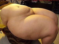 Best pear shaped PLUS-SIZE ever (slip show)