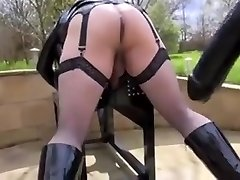 Slutty dykes in hot female domination porn act