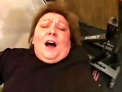 BBW GRANDMOTHER PORKED IN THE GYM