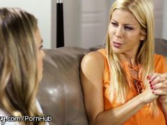 Girlsway Military Wives Unleash Sexual Frustration