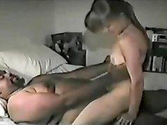 White Bitch Sates Fat Black