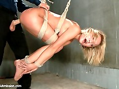 Dakota Skye is made into an obedient anal slave when she gets picked up off the street by a powerful and perverted man, Tommy Pistol.  Innocent looking and petite, Dakota gets put through her paces in some intense rough sex and bondage positions.