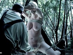 This is being released to Hogtied.com members with added Bonus Material including interviews with the cast and the Q&A from the premiere of the movie at the Armory.Cherry Torn & Veruca James take to the deep woods for some rest & relaxation. They take an extended trip to go hiking & get their minds off of the real world. The forest is a very calming place & the girls can't wait to take all of it in. Once in the woods the girls find that they are not alone. There is an evil dark presence getting closer & waiting for the perfect moment to expose itself. Once exposed there is no putting this evil back to rest.