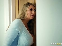 Brazzers - Mommy and stepdaughter and one lucky pink cigar