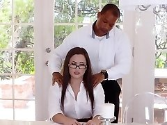 TLBC - Sexy Sekretářka Prdeli Boss V Zadku