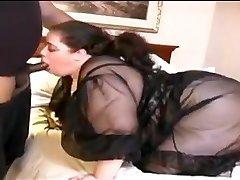 Bbw Bílá Žena Šuká Malý Černý Péro