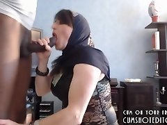 Submissive Arab Wife Pleasing Her Spouse