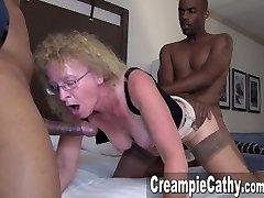 Huge Big Black Cock & Creampie Compilation