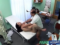 FakeHospital Warm honey wants her Doctor to suck her tits