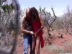 african safari threesome hookup