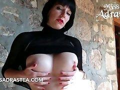 Hot Udders and black Nylon