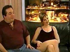 Waching his stellar wife fucked hard by a big dark-hued cock...