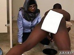 Ebony sloppy blow-job milky cock first time