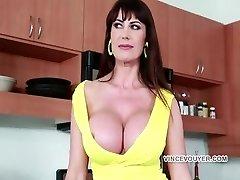 Eva Huge-titted bitch Take a bick black dick