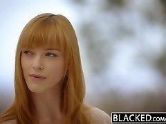 BLACKED German Teen Anny Aurora gets Monster Dark-hued Shaft