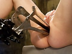 Incredible latex, ebony porn clip with fabulous sex industry stars Kylie Ireland and Isis Love from Everythingbutt