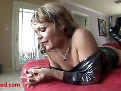 ugly aged grandma gets fuck head by big ebony negro cock and