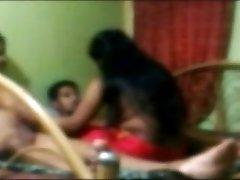 Desi friends fucking a girl threesome