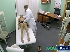 FakeHospital Hot doll with big tits gets therapists treatment