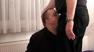 Mouthfuck and jism facial