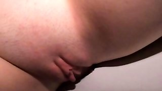 Blowage Blonde Through Gloryhole In-Wall