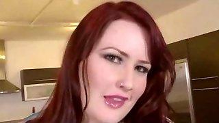 horny redhead bbw