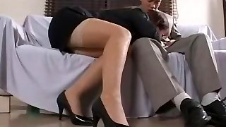Hottest Japanese model Yui Kazuki in Best Secretary, Big Udders JAV movie