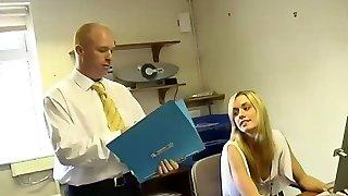 Teen Secretary Serves